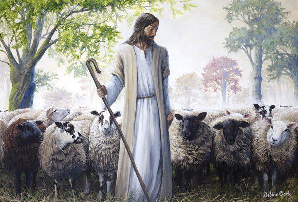 The Good Shepherd Painting