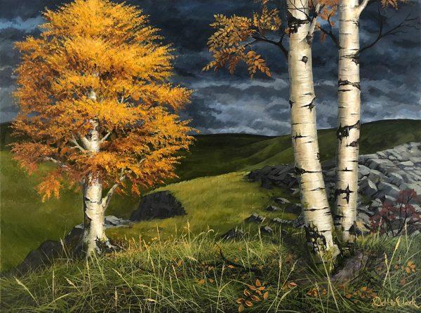 Autumn Silver Birch