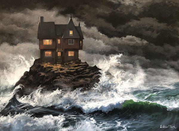 House built on a rock