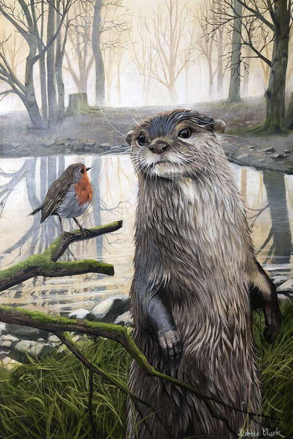 The Otter's Visitor