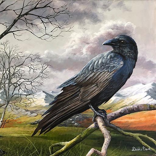 The Winter Raven