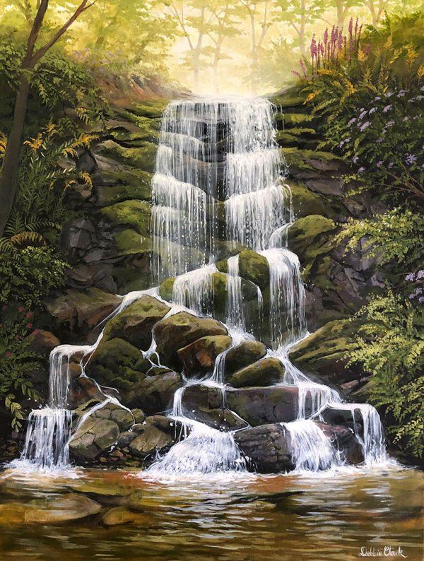 Waterfall Living Water